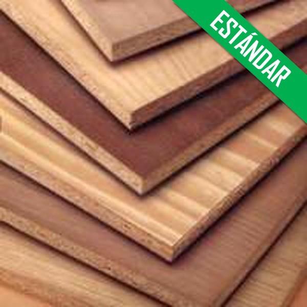 Tableros aglomerado rechapado prefabricado estandar - Tableros de madera baratos ...