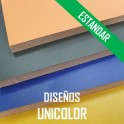 AGLOMERADO ESTANDAR PLASTIFICADO UNICOLORES 2440*1220 mm