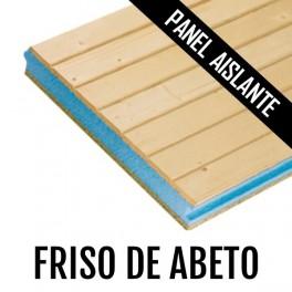 PANEL AISLANTE FRISO MACIZO DE ABETO