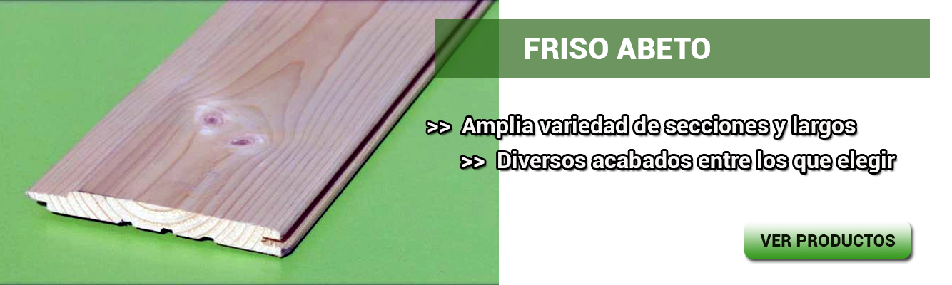 Friso fabricado en madera maciza, Ideal para decorar paredes, buhardillas, arrimaderos y porches